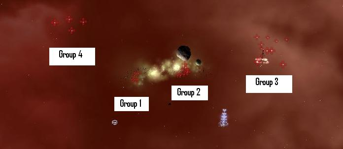 Group location for The Assault Level 4 Serpentis Pocket 1